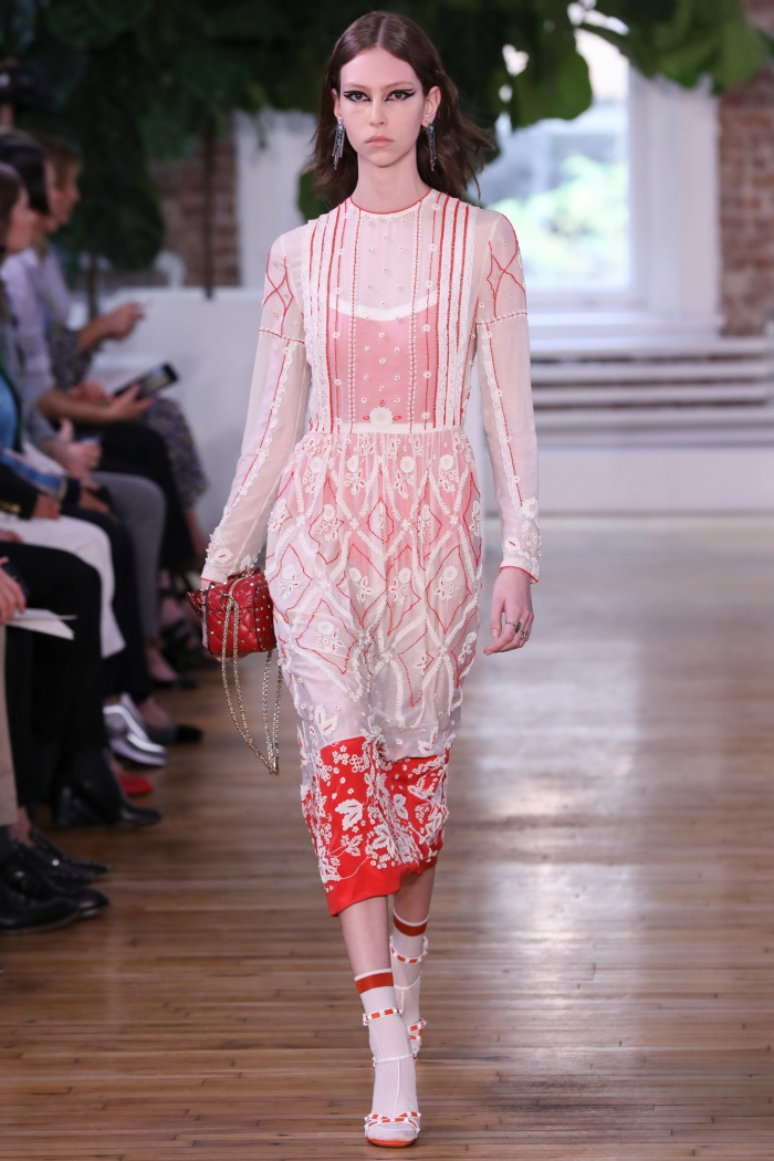 valentino resort 2018 collection print and pattern