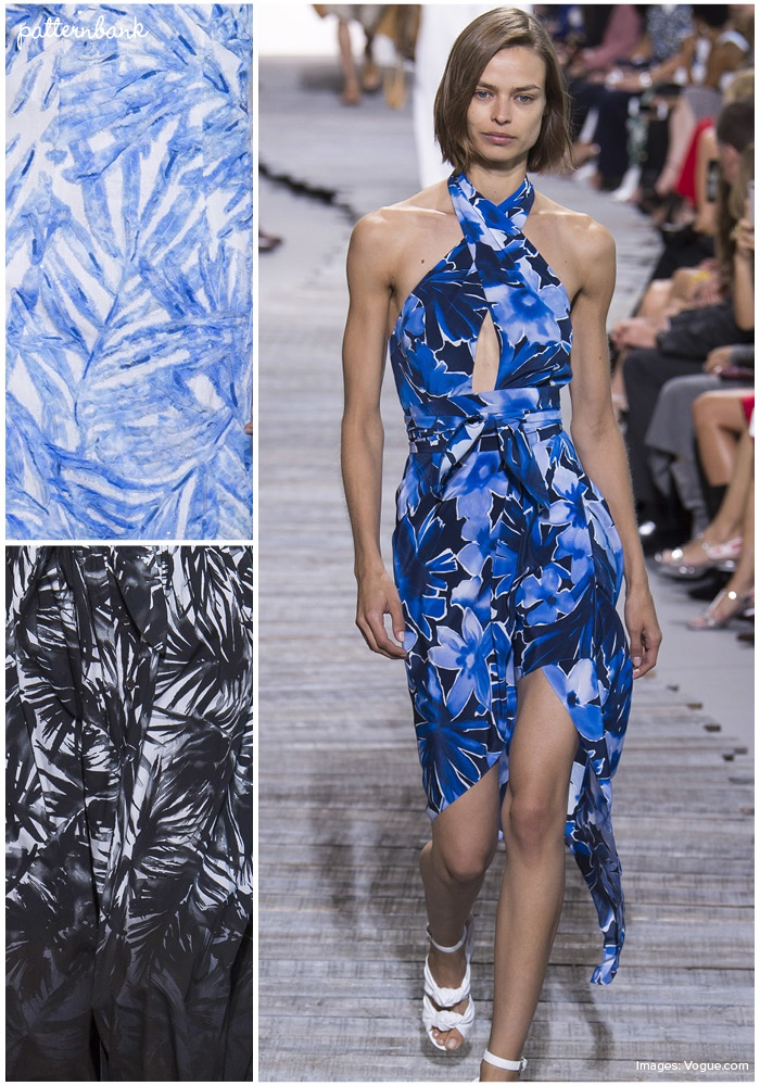 fe2b1638b16c Michael Kors Collection – Spring Summer 2018 – RTW – New York Fashion Week  – Print   Pattern Highlight