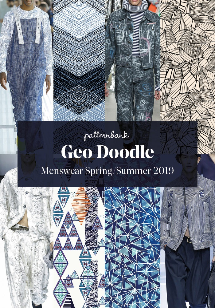 Menswear Spring Summer 2019 Print And Pattern Trend Hightlights