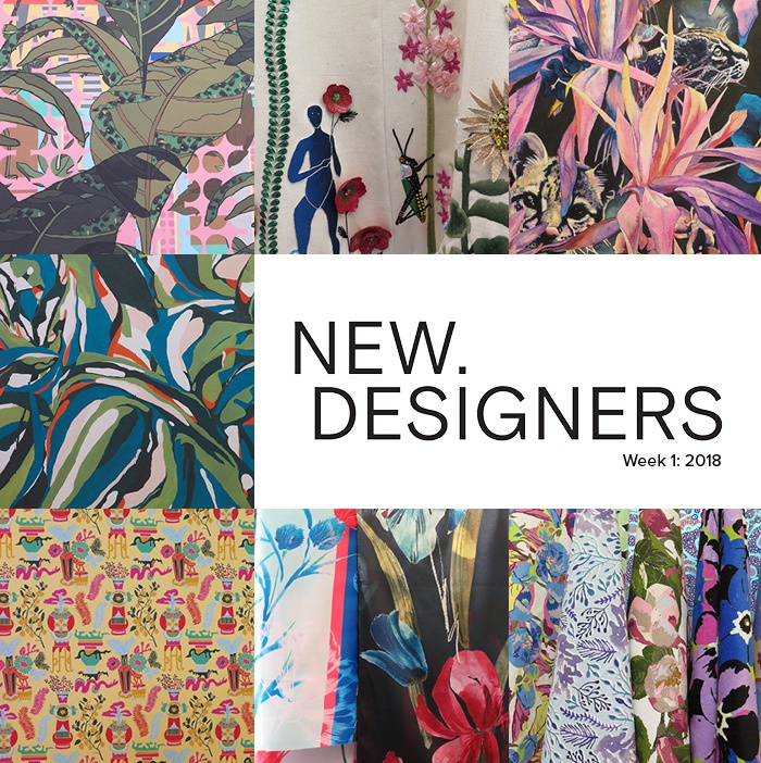 Great Patternbank Brings You A Snapshot Of The Strongest Print Designers Seen At  The Recent New Designers Graduate Show.