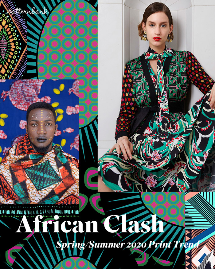 Spring Summer 2020 Print Amp Pattern Trend African Clash