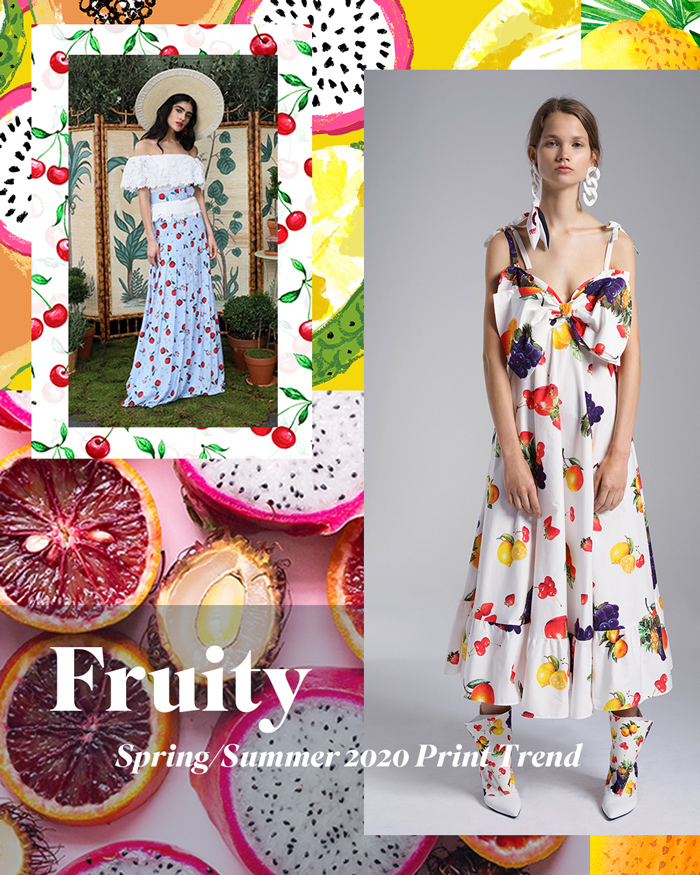 Spring/Summer 2020 Print & Pattern Trend - Fruity | Patternbank